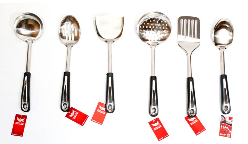 Stainless Steel Kitchen Cooking Utensils - Dallas General Wholesale