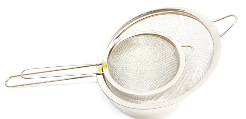 Stainless Steel Mesh Strainer with Handle Wholesale - Dallas General Wholesale