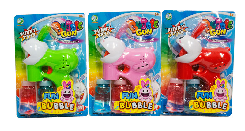 Bunny Shaped Bubble Blaster Gun - Dallas General Wholesale