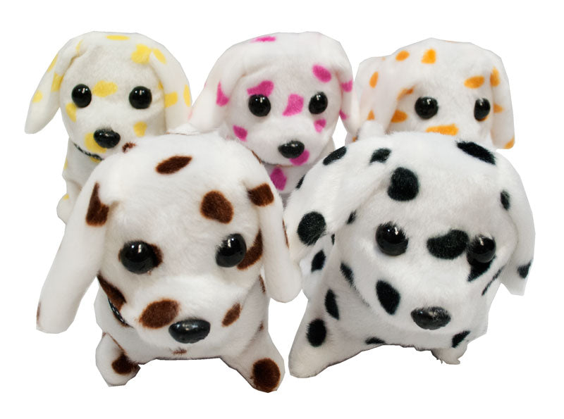 Polka Dot Realistic Dogs-Barks & Walks - Dallas General Wholesale