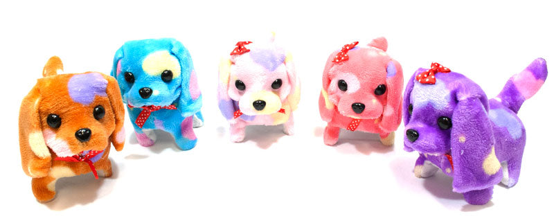 Rainbow Toy Realistic Dogs-Barks & Walks - Dallas General Wholesale