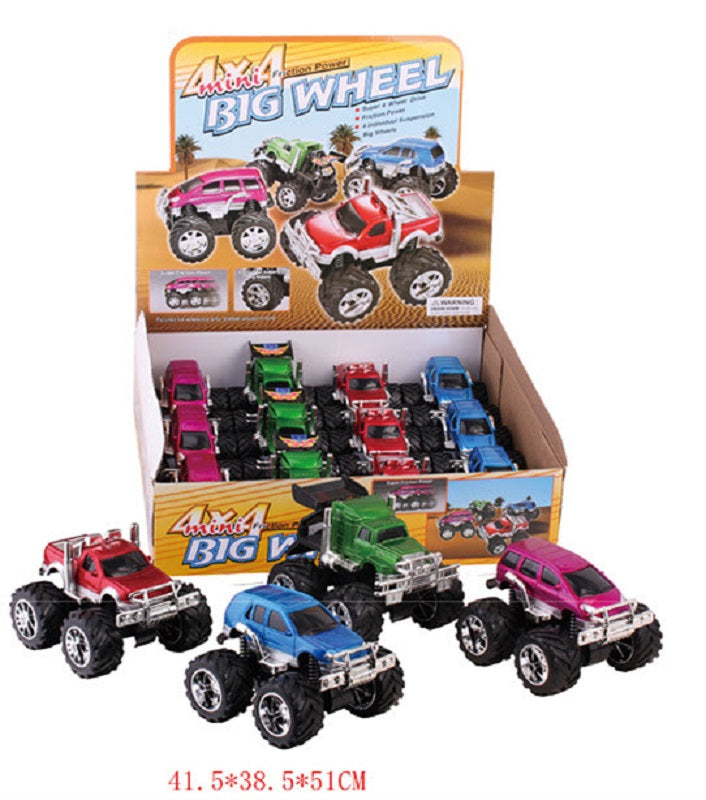 Toy Inertial Mud Trucks Wholesale - Dallas General Wholesale