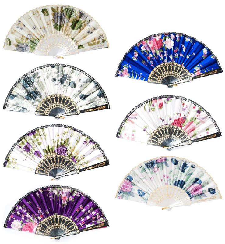 Summer Hand Held Folding Fan Wholesale - Dallas General Wholesale