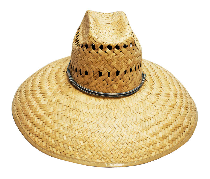 Foldable Vented Straw Sombrero Hats - Dallas General Wholesale