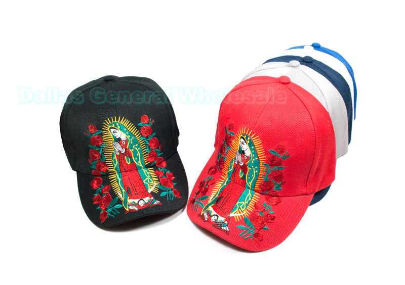 """Lady Guadalupe"" Casual Caps Wholesale - Dallas General Wholesale"