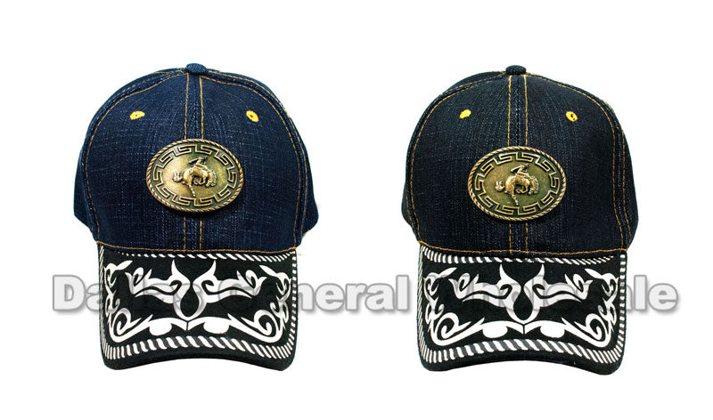 Brass Horse Denim Casual Caps Wholesale - Dallas General Wholesale