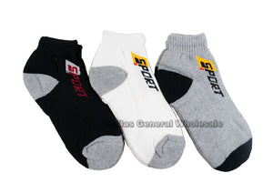 Casual Ankle Sports Socks Wholesale - Dallas General Wholesale