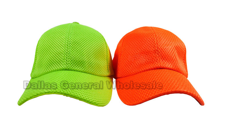 Neon Color Casual Caps Wholesale - Dallas General Wholesale
