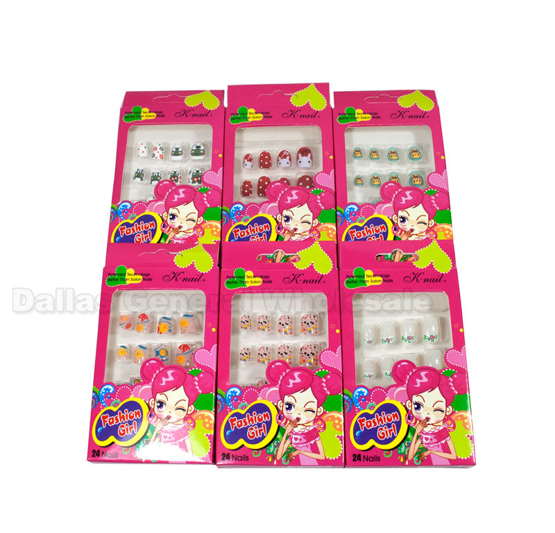 Kids Fake Nail Art Sets Wholesale - Dallas General Wholesale