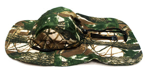 Forest Camouflage Boonie Hat with Flap Neck Cover - Dallas General Wholesale