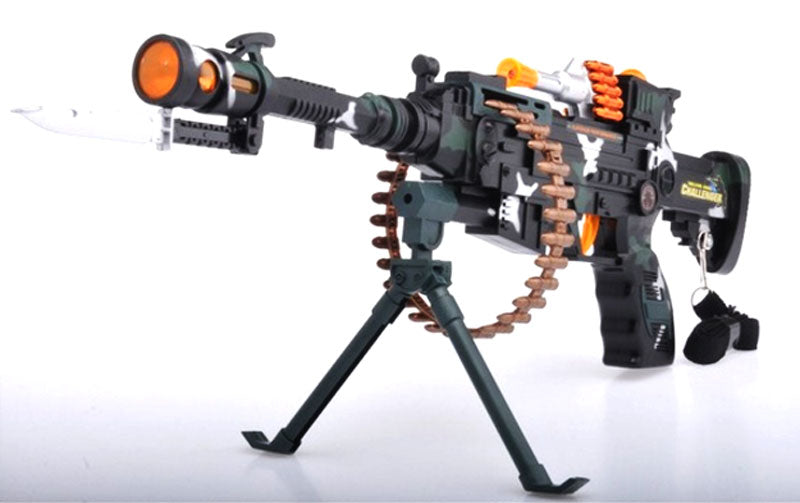 9218B Toy Machine Gun - Dallas General Wholesale