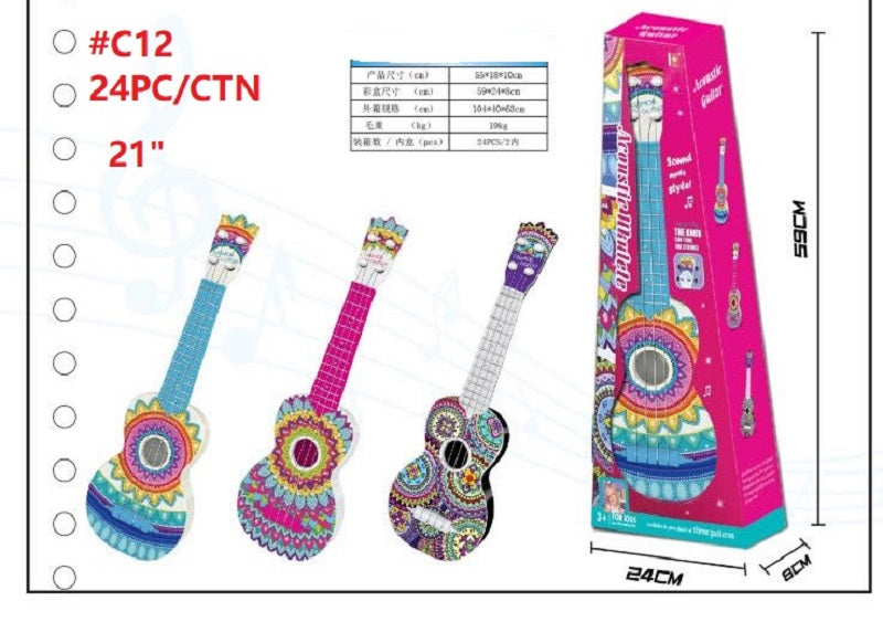 COCO inspired Toy Guitars Wholesale - Dallas General Wholesale