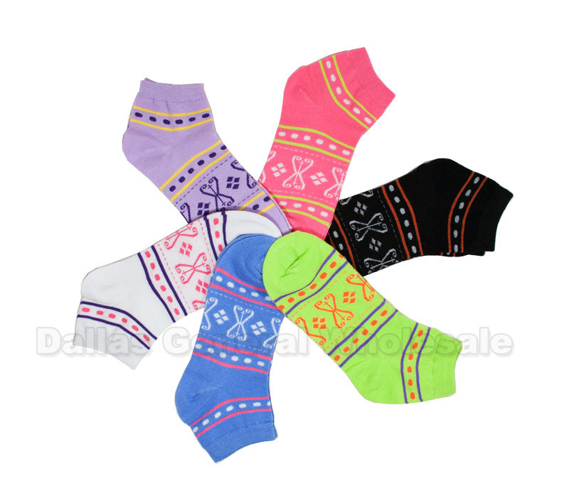 Women's Ankle Socks Wholesale - Dallas General Wholesale