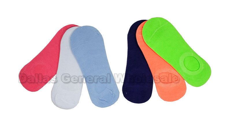 Girls No Show Socks Wholesale - Dallas General Wholesale