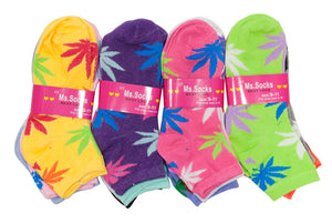 Ladies Casual Funky Ankle Socks - Dallas General Wholesale