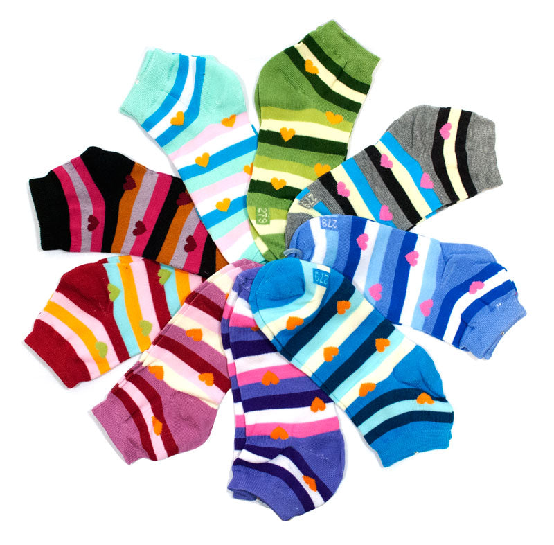 Ladies Casual Ankle Socks - Dallas General Wholesale