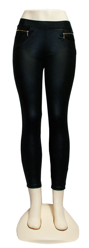 Ladies Skinny Leather Pants - Dallas General Wholesale