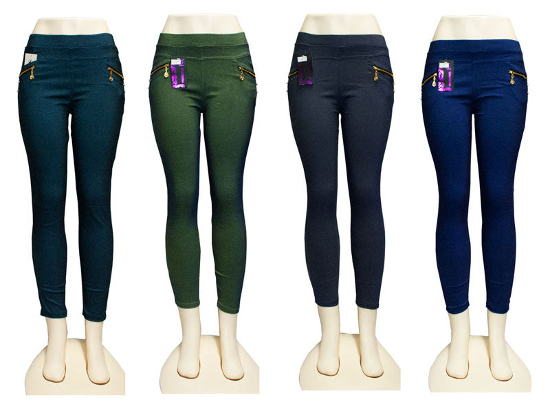 Girls Pull On Skinny Pants - Dallas General Wholesale