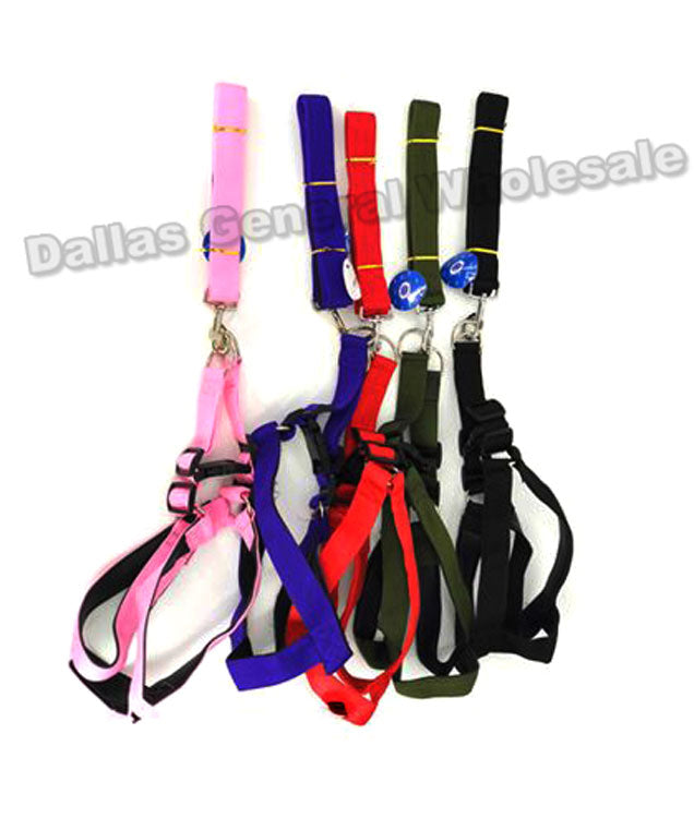 Large Dog Harness w/ Leash Set Wholesale - Dallas General Wholesale