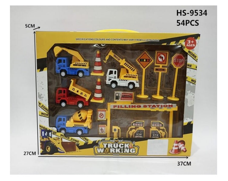 Construction Crew Figure Play Sets Wholesale - Dallas General Wholesale