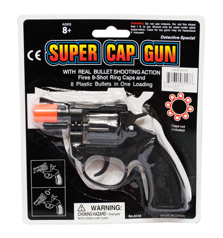 Toy Detective Cap Guns - Dallas General Wholesale