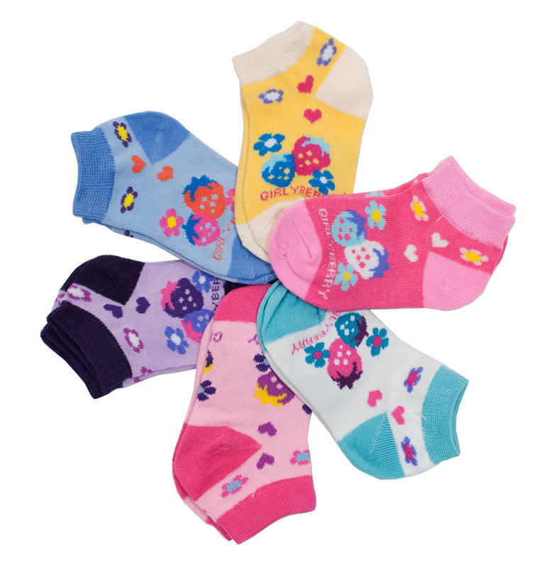 Little Girls Cute Casual Ankle Socks - Dallas General Wholesale