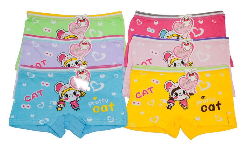 Little Girls Cotton Briefs - Dallas General Wholesale
