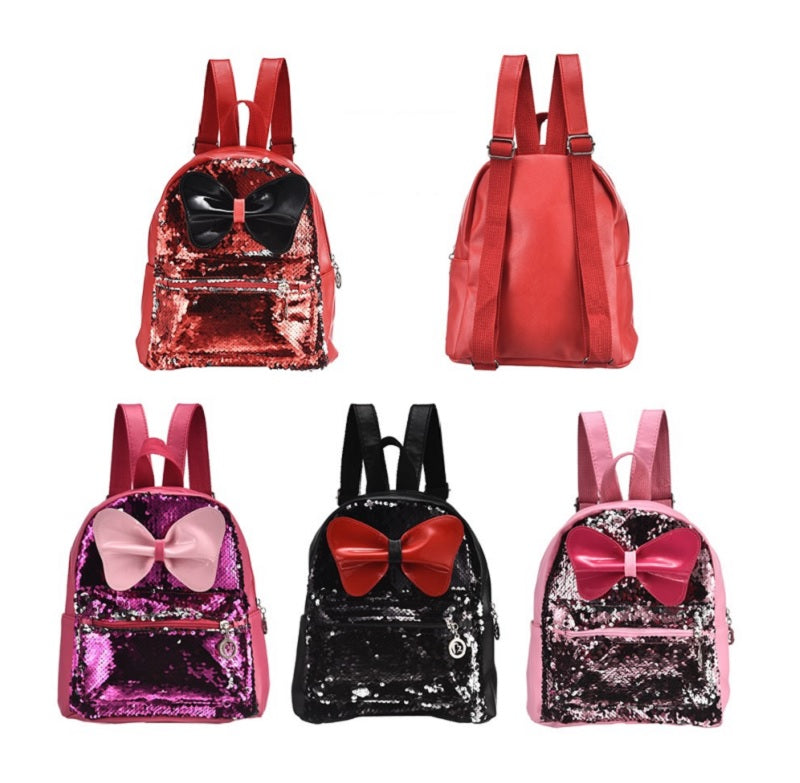Girls Sequins Backpacks Wholesale - Dallas General Wholesale