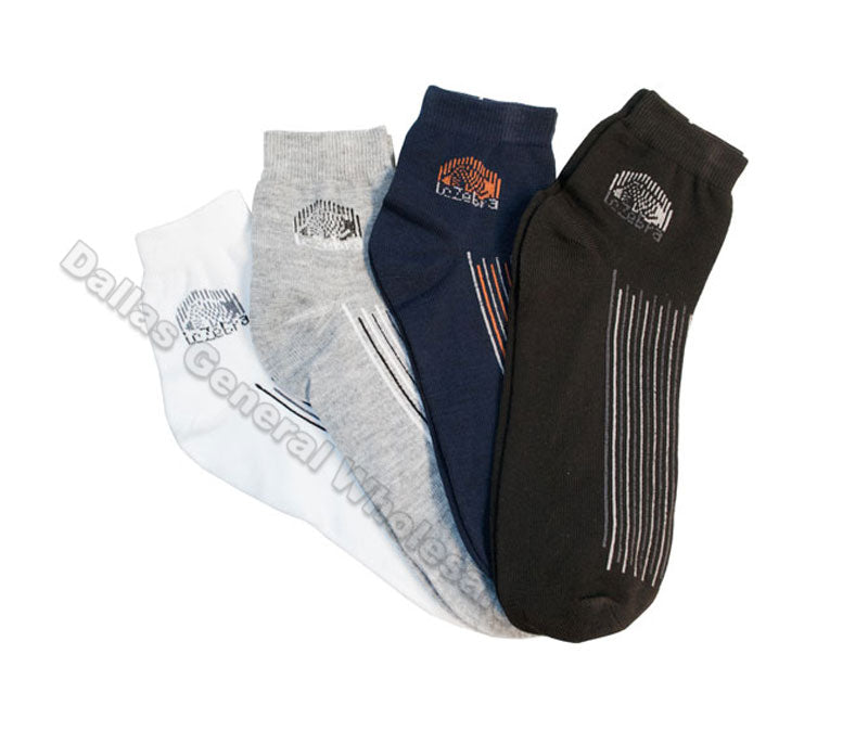 Men Summer Casual Ankle Socks Wholesale - Dallas General Wholesale