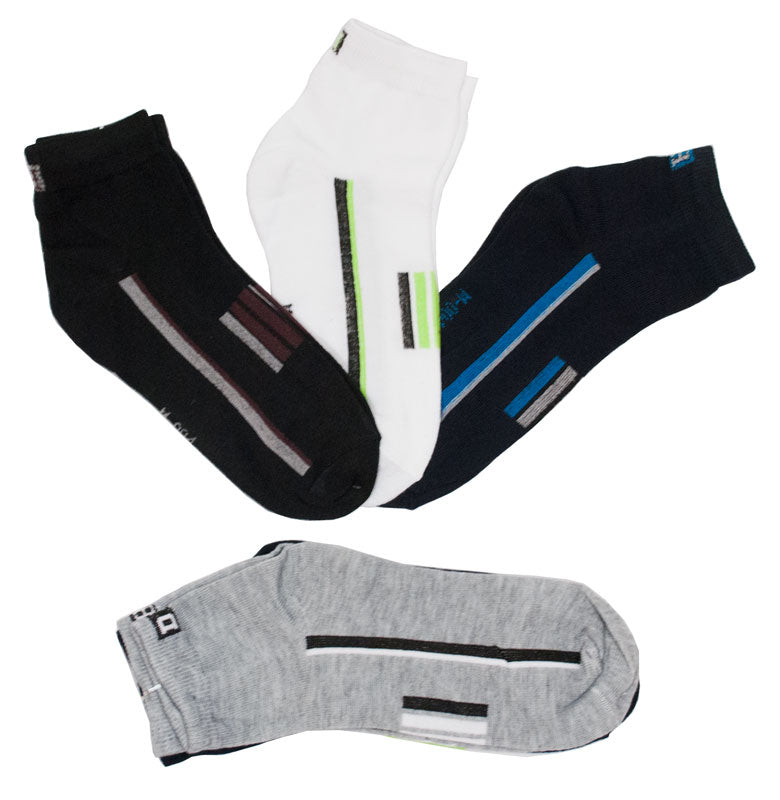 Men's Cotton Thin Ankle Casual Socks - Dallas General Wholesale