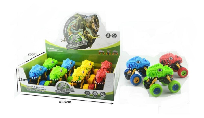 Toy Inertial Dinosaur Trucks Wholesale - Dallas General Wholesale