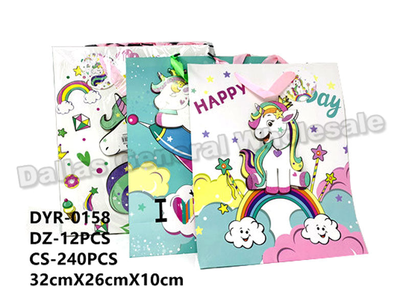 Unicorn Gift Bags Wholesale - Dallas General Wholesale