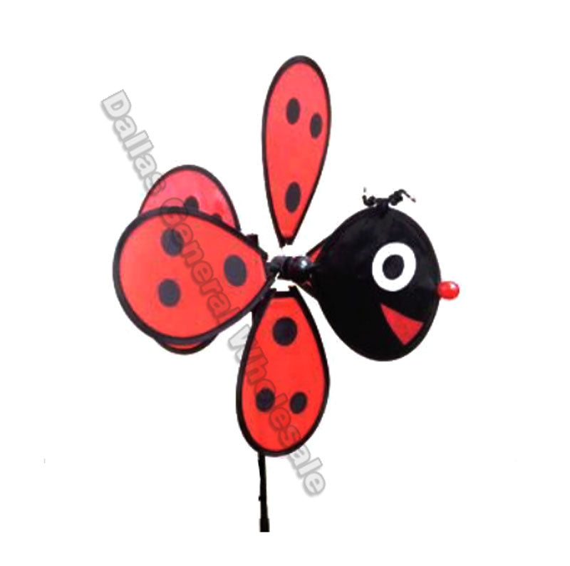Ladybug Windmills Wholesale - Dallas General Wholesale