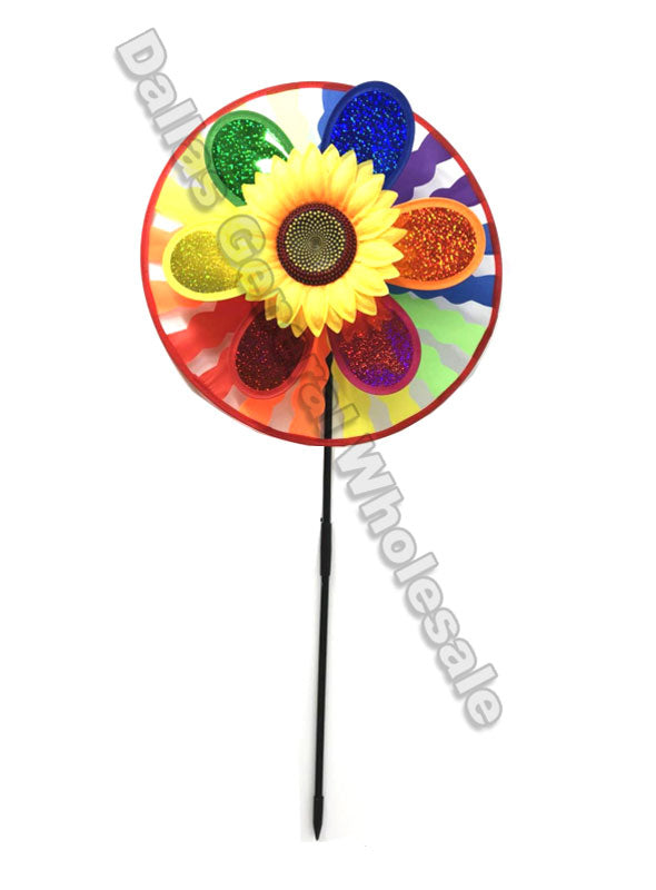 Rainbow Color Garden Windmills Wholesale - Dallas General Wholesale