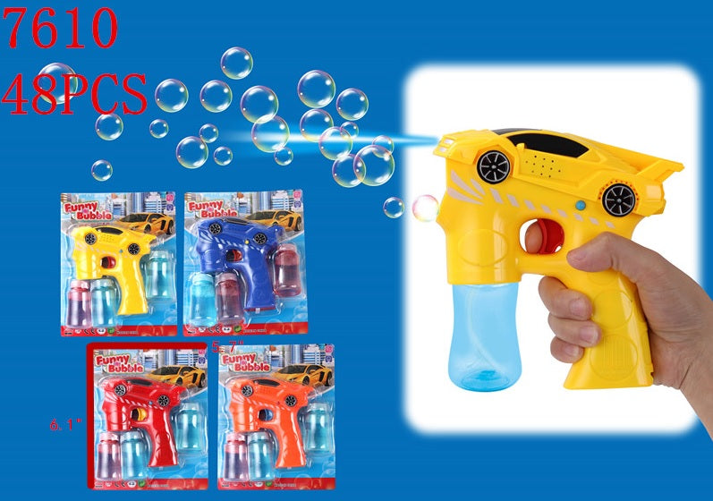 Race Car Bubble Blaster Guns Wholesale - Dallas General Wholesale