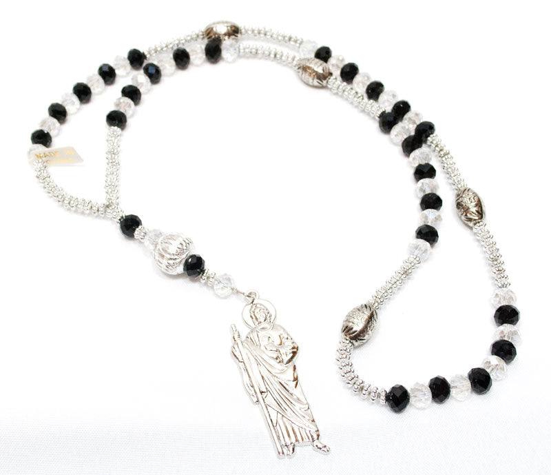 Rosary Necklace with Saint Judas Wholesale - Dallas General Wholesale