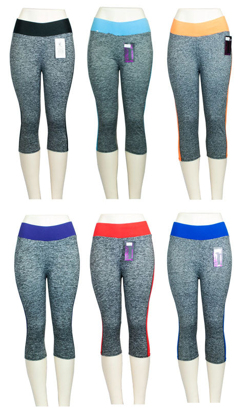 Girls Exercise Capris - Dallas General Wholesale