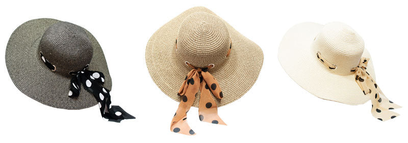 Beach Floppy Straw Hats Wholesale - Dallas General Wholesale