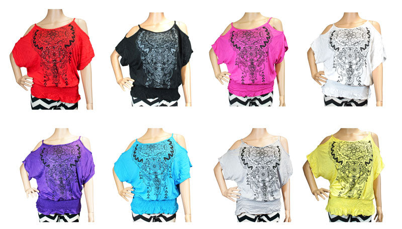 Ladies Fashion Blouses 114 - Dallas General Wholesale