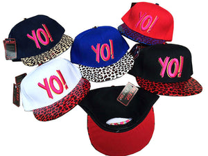 Yo! Flat Bill Cap - Dallas General Wholesale