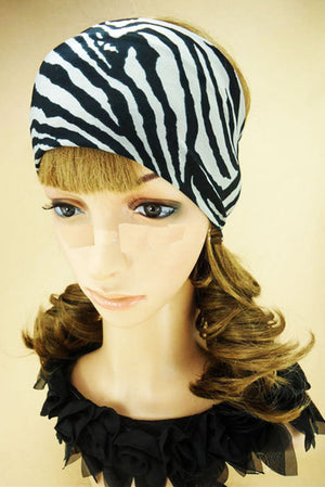 Zebra Printed Bandanas - Dallas General Wholesale