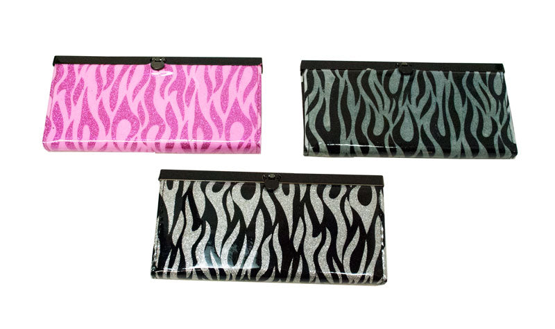 Zebra Print Womens Clutch - Dallas General Wholesale