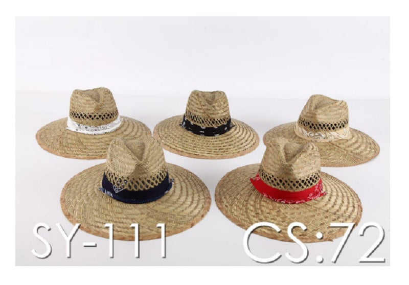 Adults Summer Straw Hats Wholesale - Dallas General Wholesale