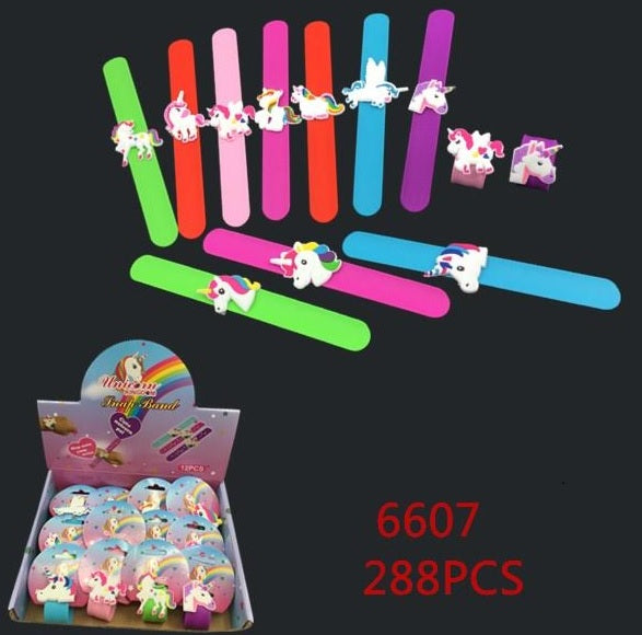 Unicorn Slap On Bracelets Wholesale - Dallas General Wholesale