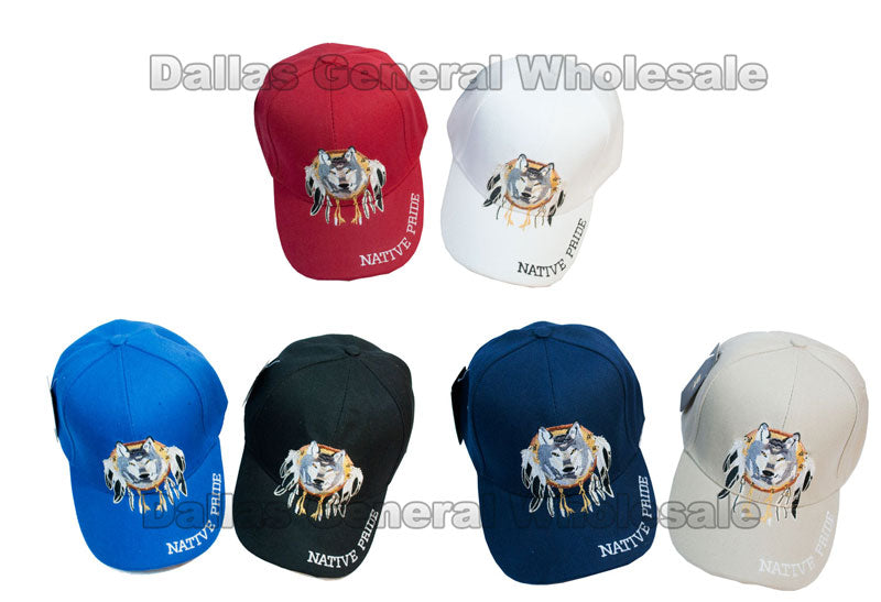 """Native Pride"" Casual Caps Wholesale - Dallas General Wholesale"