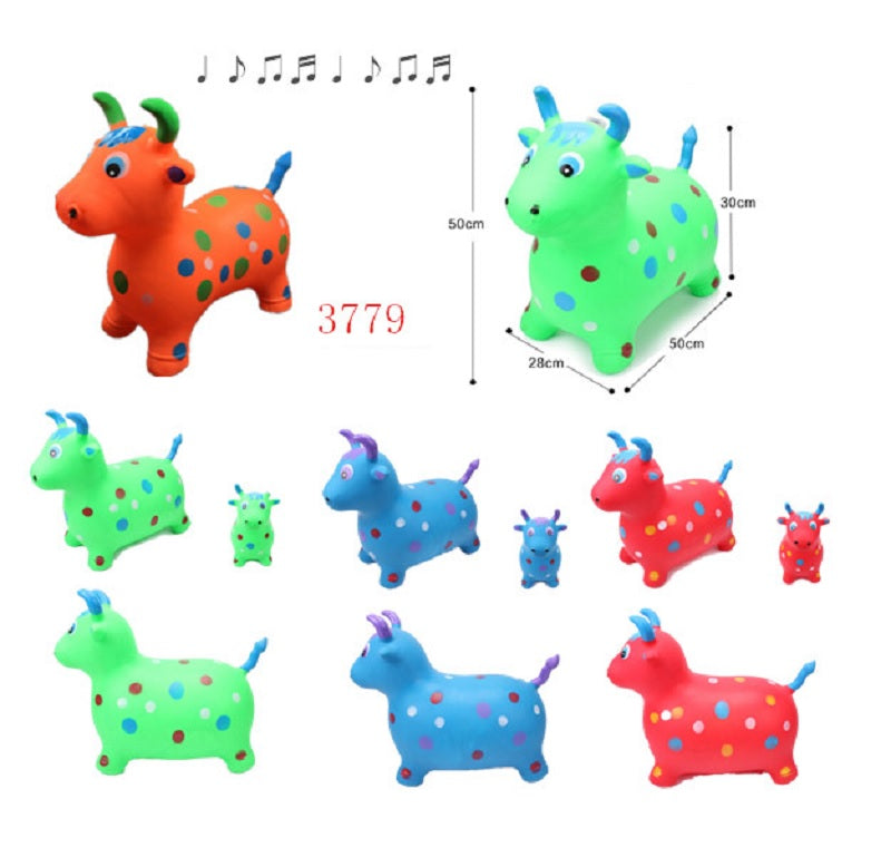 Inflatable Bouncing Toy Cows Wholesale - Dallas General Wholesale