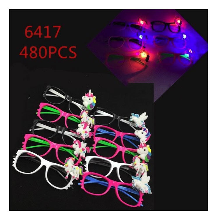 Glowing Unicorn Glasses Wholesale - Dallas General Wholesale