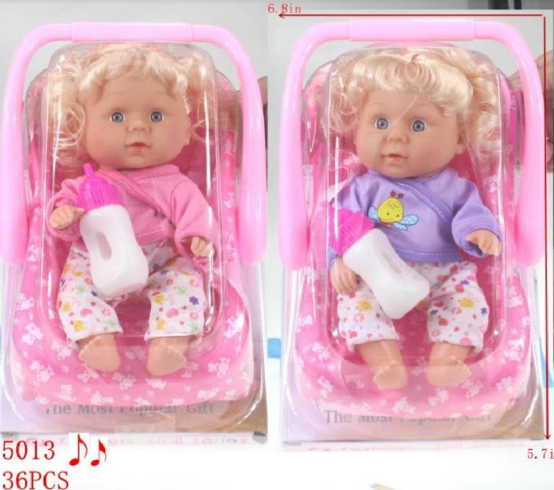 Baby Dolls in Car Seat Wholesale - Dallas General Wholesale