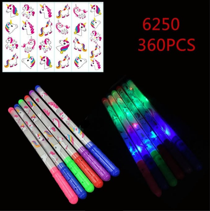 Flashing Light Up Unicorn Wands Wholesale - Dallas General Wholesale