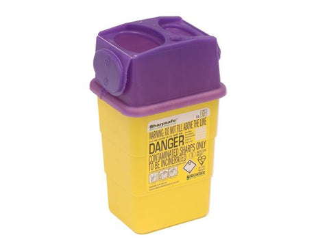 Sharpsafe Cyto Sharps Container [Purple]